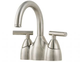 Price Pfister GT48NK00 Contempra Two Handle Lavatory Centerset Faucet