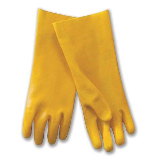Ultra Grip Pvc General Purpose Gloves   Yellow   Lot of 12