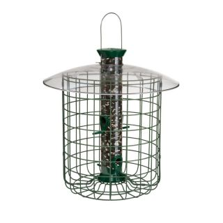 BFG Supply Co Droll Yankee 15 in. Green Domed Cage Sunflower Feeder   DROSDC