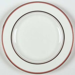 Lenox China Library Lane Coral Salad Plate, Fine China Dinnerware   Kate Spade,
