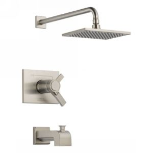 Delta Faucet T17T453 SS Vero TempAssure 17T Series Tub & Shower Trim