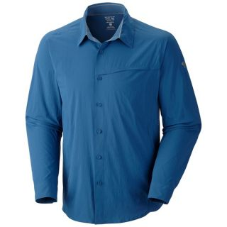 Mountain Hardwear Ravine Supreme Shirt   UPF 25  Long Sleeve (For Men)   IMPULSE BLUE (M )