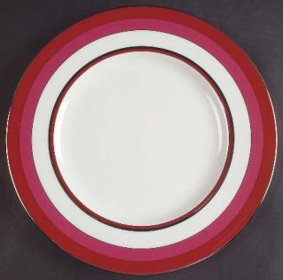 Lenox China Library Lane Coral Accent Luncheon Plate, Fine China Dinnerware   Ka