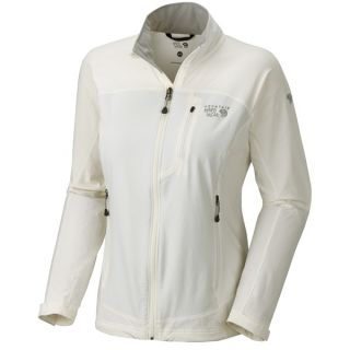 Mountain Hardwear Onata Soft Shell Jacket (For Women)   SEA SALT (M )