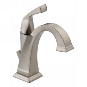 Delta Faucet 551 SS DST Dryden Single Handle Lavatory Bathroom Faucet