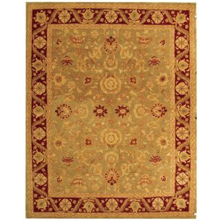 Safavieh Anatolia Light Green / Red Rug AN548A Rug Size 8 x 10