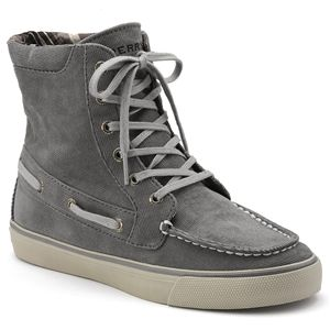 Sperry Top Sider Womens Pinecrest Graphite Corduroy Boots   9777381