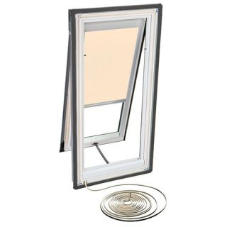 Velux RMH C06 1086 Skylight Blind, Electric Powered Light Filtering for Velux VSE C06 Models Beige
