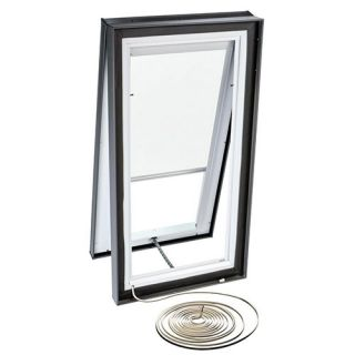 Velux RMC 2222 1028 Skylight Blind, Electric Powered Light Filtering for Velux VCE 2222 Models White