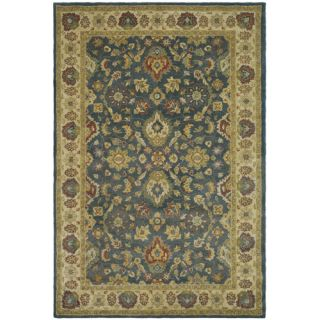 Safavieh Antiquities Blue/Beige Rug AT15A Rug Size 6 x 9