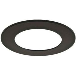 Halo TRM490BK LED Downlight Trim Accessory, 6 Trim Ring Replacement Black