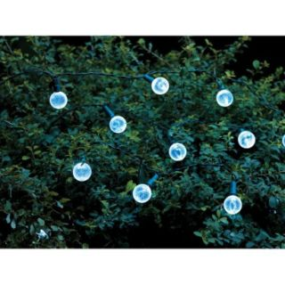 Threshold Globe Solar String Lights   White (30 Count)