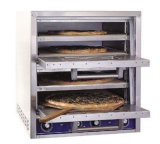 Bakers Pride Countertop Pizza / Pretzel Oven, Brick Lined, 4 Decks, 240/1 V