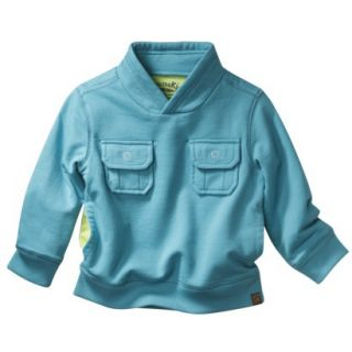 Genuine Kids from OshKosh Infant Toddler Boys Sweatshirt   Teal 5T