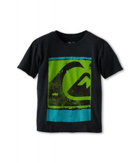 Quiksilver Kids Caption Tee Boys T Shirt (Black)