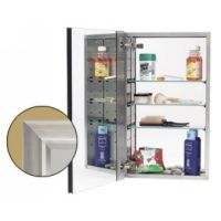 Alno MC40244 SN Series 4000 Series 4000 Stainless Steel Cabinet Body with Framed