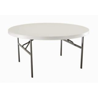 Lifetime 60 Round Commercial Grade Table in White 2970 Quantity 4