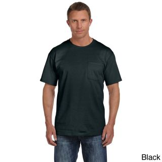 Fruit Of The Loom Mens Heavyweight Cotton Chest Pocket T shirt