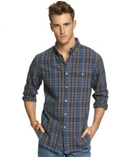 Cotton Madras Long Sleeve Shirt