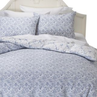 Simply Shabby Chic Batik Duvet Cover Cover Set   Indigo (Full/Queen)
