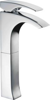 Alfi Brand AB1587PC Bathroom Faucet, Tall Single Handle Polished Chrome