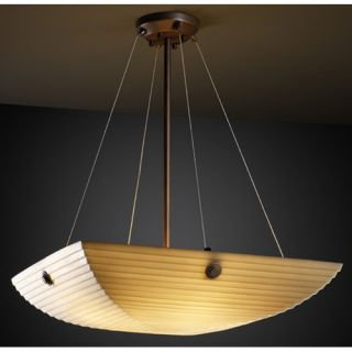 Justice Design Group Porcelina 6 Light Inverted Pendant PNA 9662