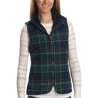 Woolrich Pine Creek Plaid Vest   Wool (For Women)   DEEP INDIGO (L )