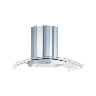 Air King ARA36GL Aragon Chimney Style Range Hood with Glass Canopy, 36Inch Stainless Steel