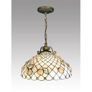 Dale Tiffany Shell 3 Light Pendant TH50007