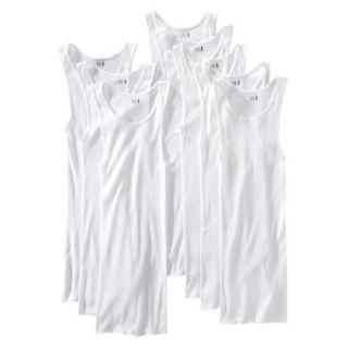 Fruit of the Loom Mens A Shirt 8Pack   White L