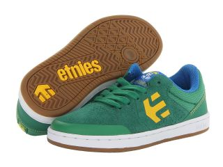 etnies Kids Marana Boys Shoes (Green)