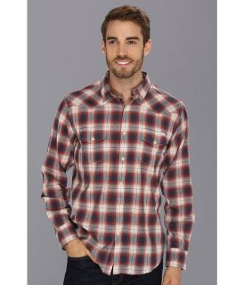 Lucky Brand Bonnington Plaid Western Mens Long Sleeve Button Up (Multi)