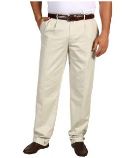 Dockers Big & Tall Big Tall Stain Defender D3 Classic Fit Pleated Khaki Mens Casual Pants (White)