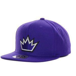 Sacramento Kings Mitchell and Ness NBA Current Logo Fitted Cap