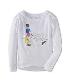 Roxy Kids Skate Chick ND Raglan Tee Girls Long Sleeve Pullover (Multi)