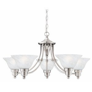 Thomas Lighting THO M200378 Cirrus Chandelier 5x100W