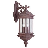 Sea Gull Lighting SEA 8841 08 Hill Gate Three Light Hill Gate Outdoor Wall Lante