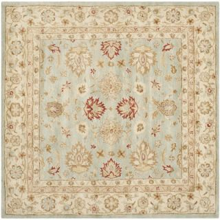 Safavieh Antiquity Grey Blue / Beige Rug AT822A  Rug Size Square 6 x 6