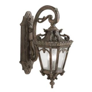 Kichler 9358LD Outdoor Light, European Wall Mount 3 Light Fixture Londonderry
