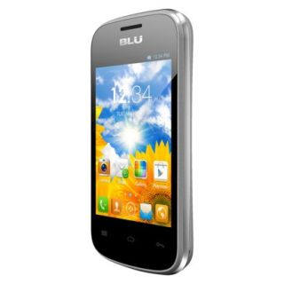 BLU Dash Junior D140 Unlocked GSM Dual SIM Android Cell Phone   Silver
