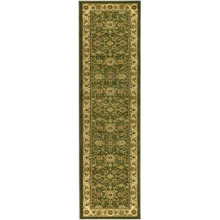 Lyndhurst Collection Majestic Sage/ Ivory Runner (23 X 20)