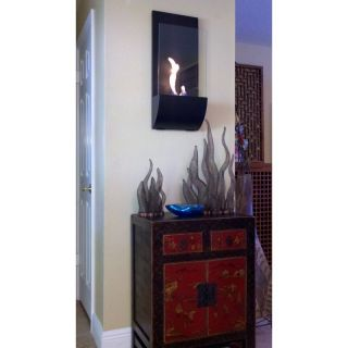 Bluworld HomElements LLC Nu Flame Torcia Wall Mounted Fireplace Multicolor   NF