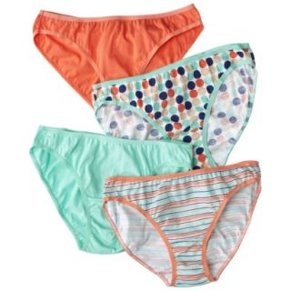 Fruit Of The Loom Womens 4 pk Fashion Cotton Bikini   Assorted Colors/Patterns 5