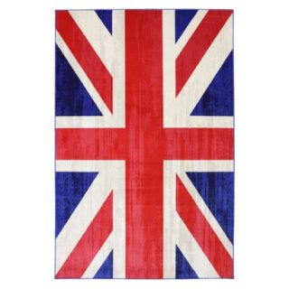 Mohawk Home Union Jack Area Rug   5x8