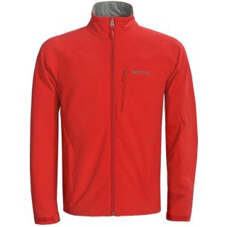 Marmot Threshold II  Soft Shell Jacket (For Men)   CARDINAL (L )