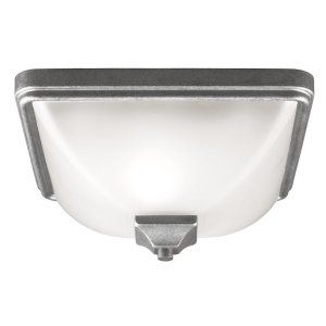 Sea Gull Lighting SEA 7828401 57 Irving Park One Light Outdoor Ceiling Flush Mou