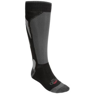 Hot Chillys Mid Volume Socks (For Men)   NAVY/BLACK/CHARCOAL (XL )