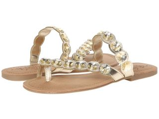 Kenneth Cole Unlisted Coin Charm Womens Sandals (Gold)