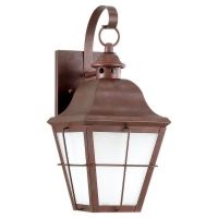 Sea Gull Lighting SEA 89062BLE 44 Chatham Fluorescent Outdoor Wall Lantern One L