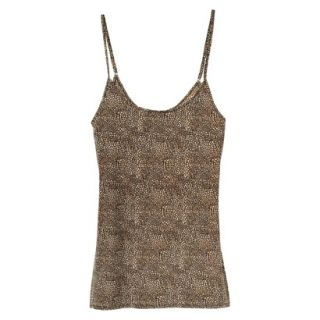 JKY By Jockey Womens Nylon Stretch Cami   Animal Print M
